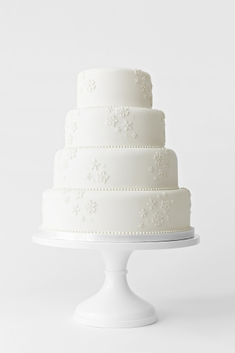 WEDDING CAKE_BLOSSOM APPLIQUÉ