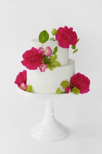 WEDDING CAKE_BUTTERCREME PINK