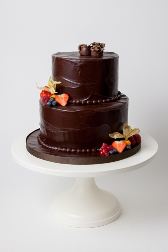 WEDDING CAKE_SCHOKO TORTE